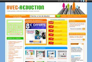 Codes promo et codes de réduction